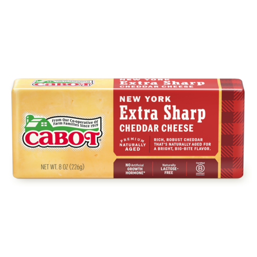 New York Extra Sharp Yellow Cheddar Cheese