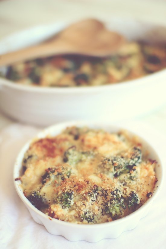 White Cheddar, Chicken & Broccoli Casserole