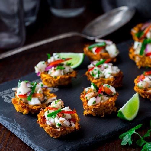 Shrimp & Monkfish Ceviche