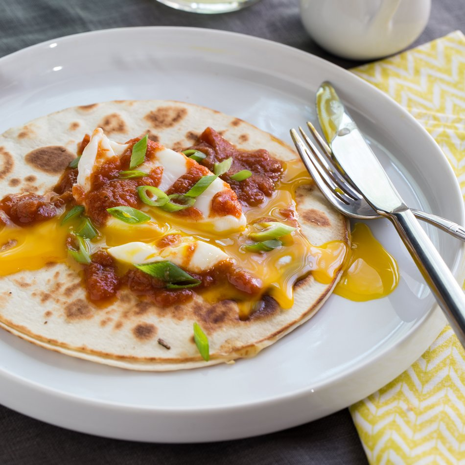 Huevos Rancheros Quesadillas