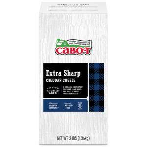 Extra Sharp Cheddar Cheese 3 lb