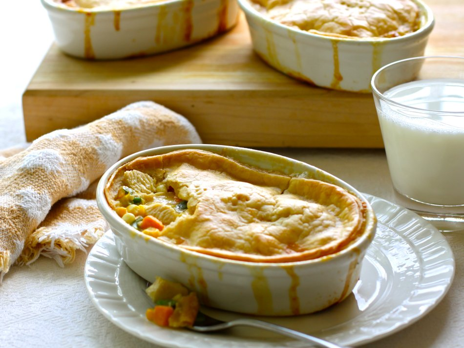 Chicken and Sweet Potato Pot Pie