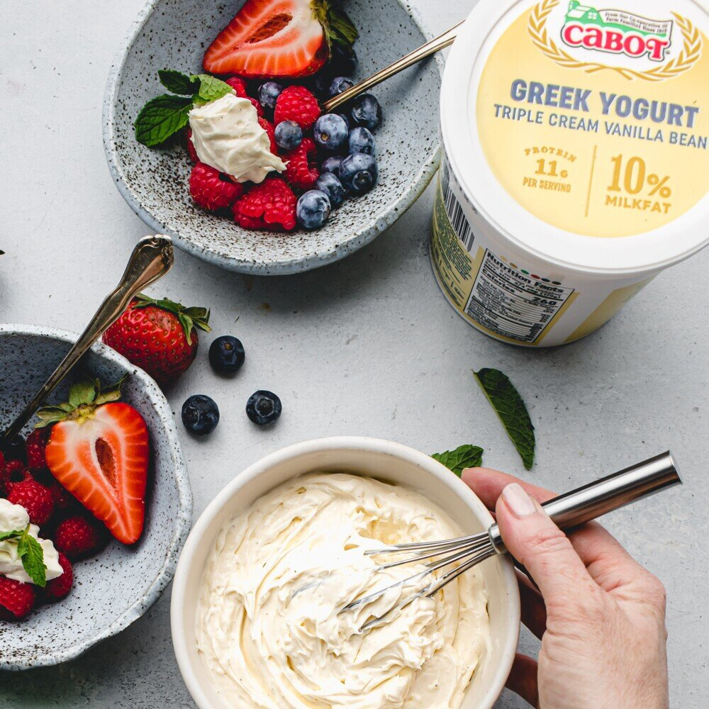 Whipped Yogurt Cream