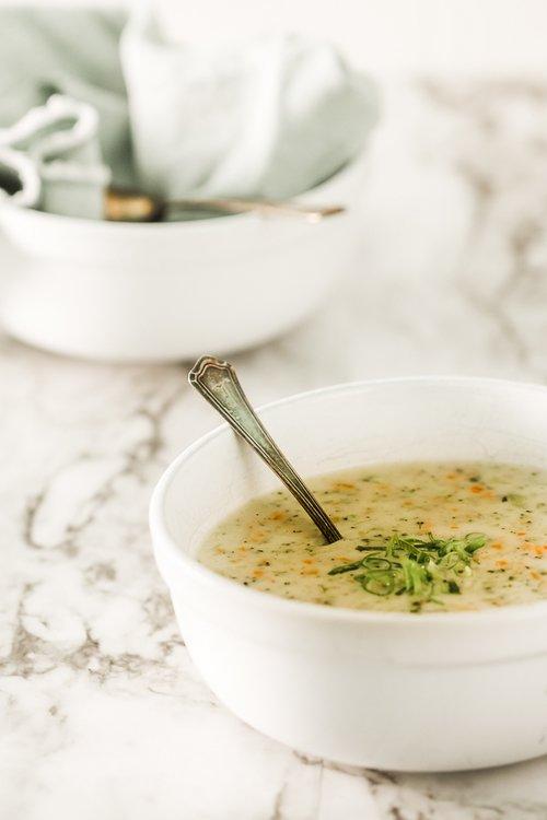 Gluten-Free Broccoli Cheddar Soup