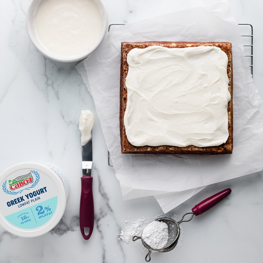 Creamy Greek Yogurt Frosting