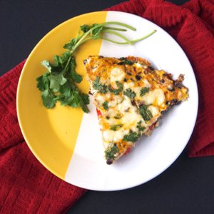 Cheesy Mexican Frittata