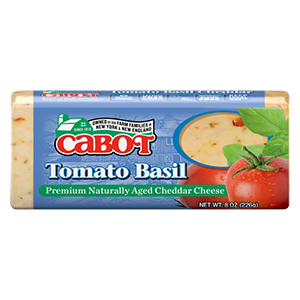 Tomato Basil Cheddar Cheese Dairy Bar