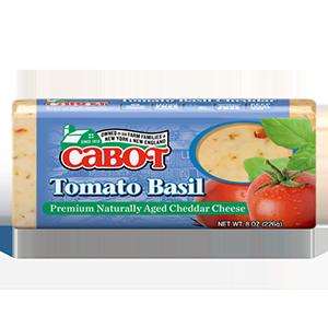 Tomato Basil Cheddar Cheese Dairy Bar
