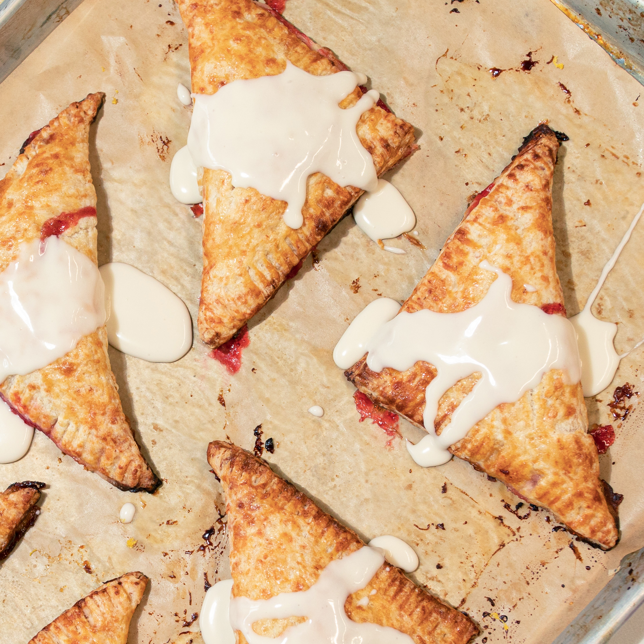 Strawberry Hand Pies with Cheddar Crust