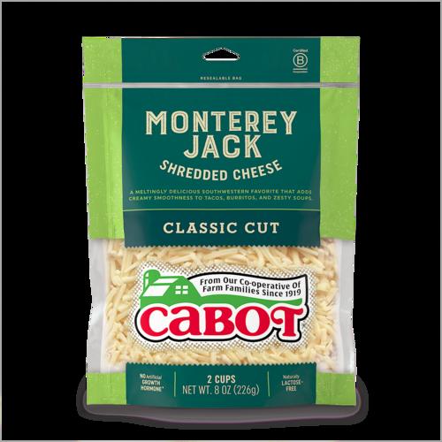 Monterey Jack Shredded Cheese