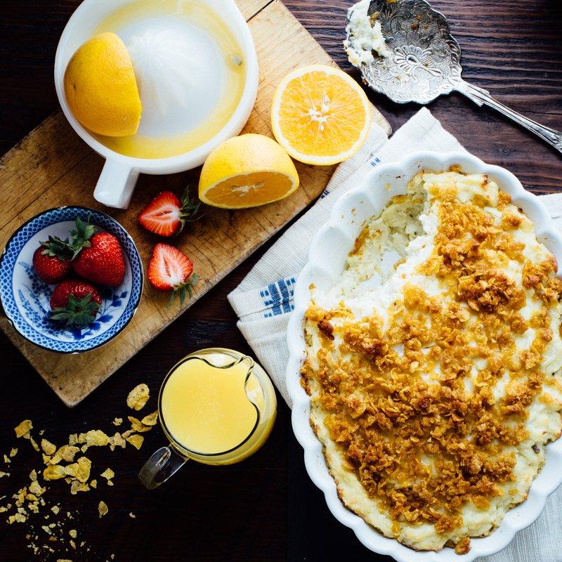 Easy Breakfast Potato Casserole