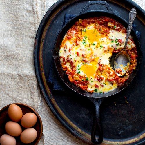 Shakshuka (A Jewish/North African-Inspired Egg Dish)