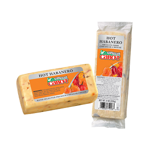Hot Habanero Cheddar Cheese Deli