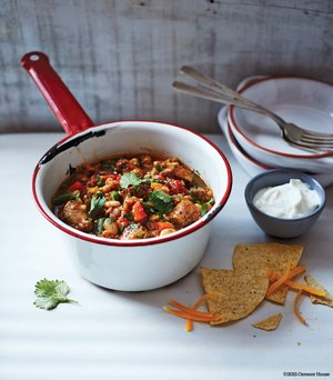 Andrew Worthen's Chicken and Vegetable Garden Chili