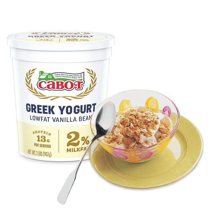 Apple Pie in a Bowl with Cabot Greek Yogurt