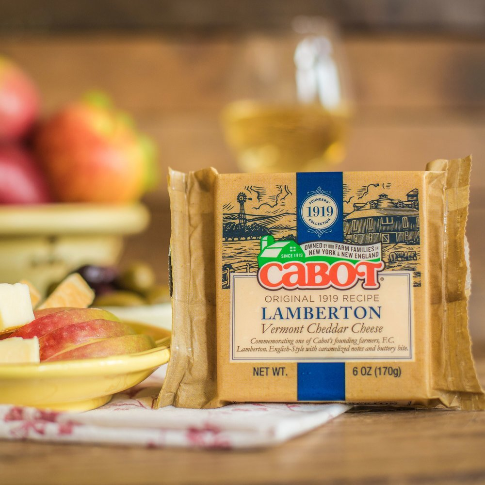 Founders' 1919 Collection: Lamberton Cheddar Cheese