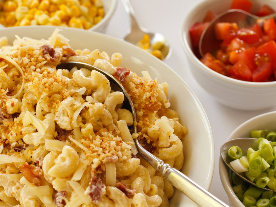 Bacon Mac & Cheese Salad