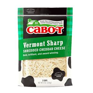 Sharp Shredded Cheddar Cheese