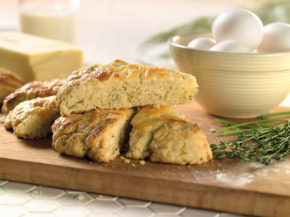 Cabot Cheddar-Pepper Scones