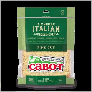 5 Cheese Italian Shredded Cheese