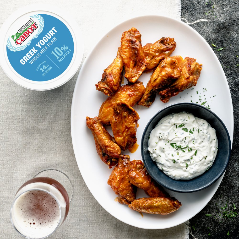 Air Fryer Hot Wings Cabot Creamery