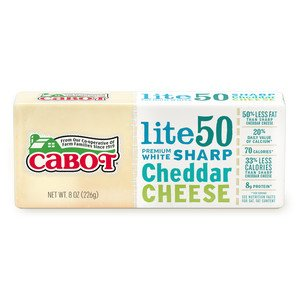 Lite50 Sharp Cheddar Cheese