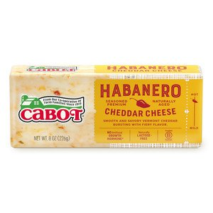 Hot Habanero Cheddar Cheese