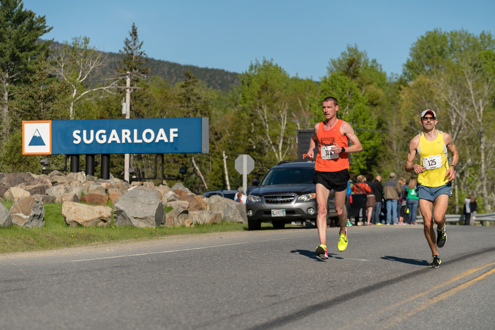 Maine runners Gorneault and Frost earn back-to-back titles in the 35th Annual Sugarloaf Marathon