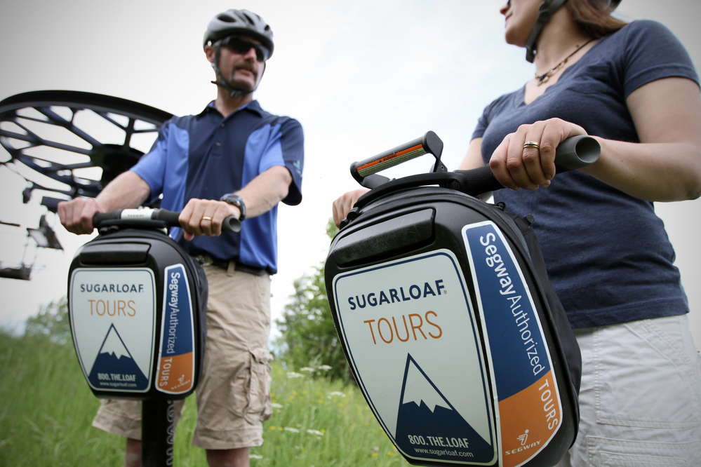 "Sugarloaf launches Maine's first off-road Segway tours with opening of new ""Outpost"""