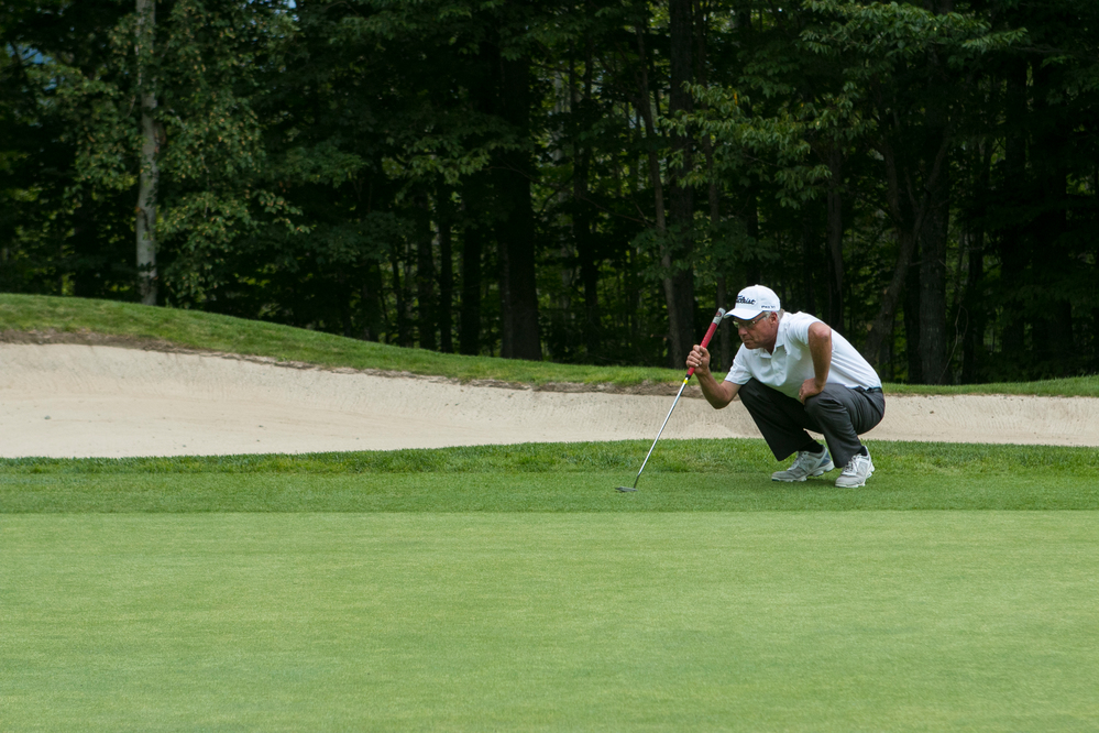 Amateur Reese McFarlane takes one stroke lead in State of Maine Championship Round 1