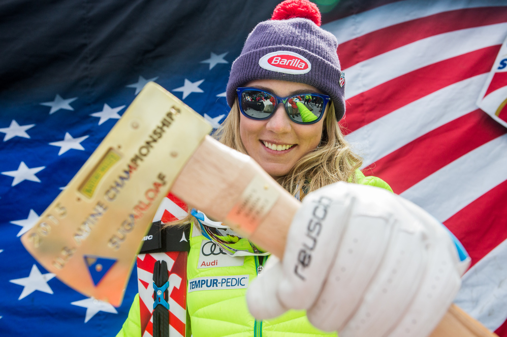 Olympic Gold Medalist, Mikaela Shiffrin earns third National Slalom Title at Sugarloaf