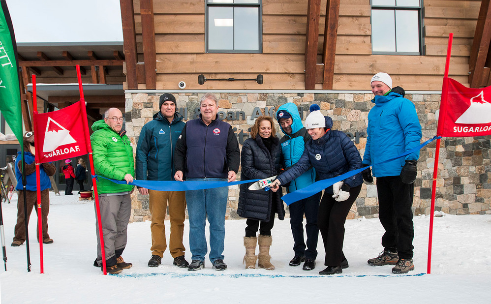 Bill and Joan Alfond Competition Center at Sugarloaf now open