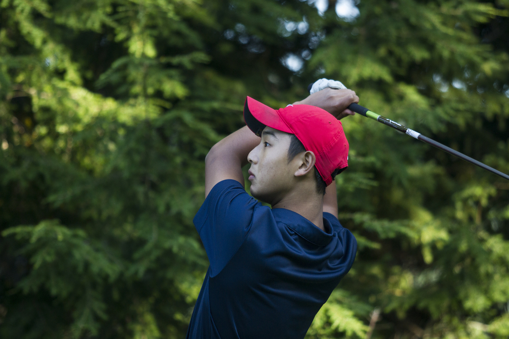 Zhang and Sun tied for the lead after Round 1 of AJGA Coca-Cola Junior Championships