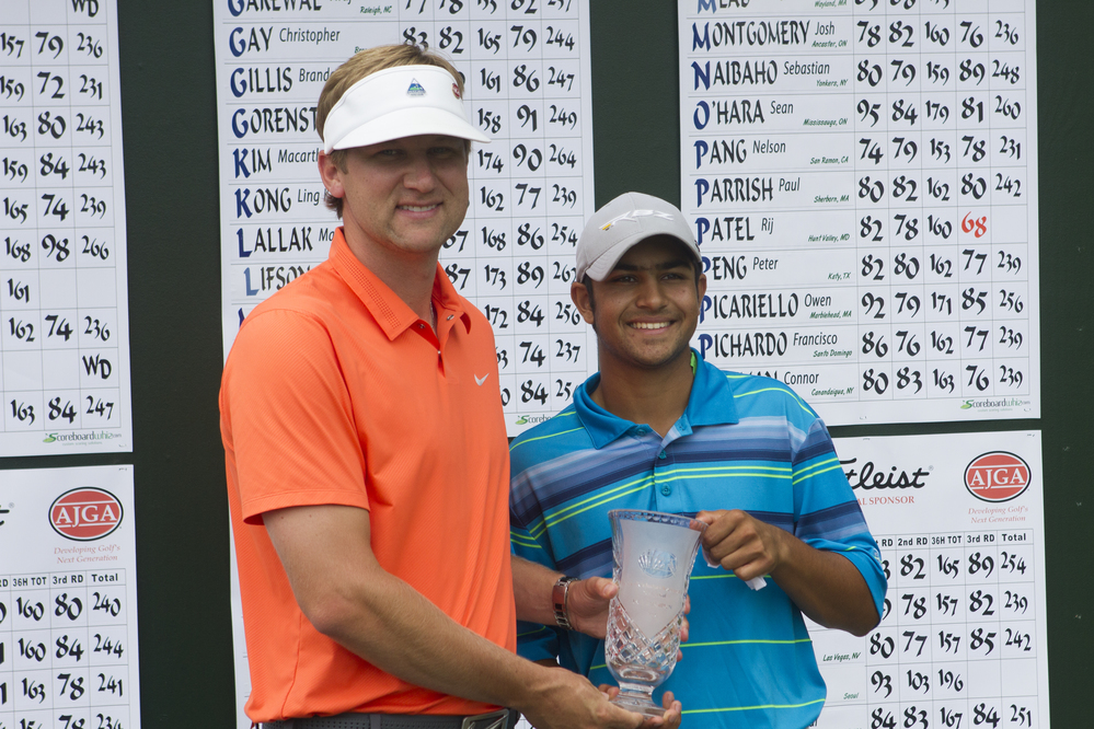 Patel and McDaugald claim titles in AJGA Coca Cola Junior Championship