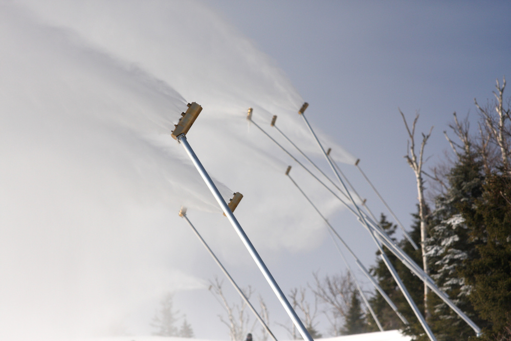 Sugarloaf, Sunday River, and Loon Mountain commit to spring skiing with continued snowmaking in March
