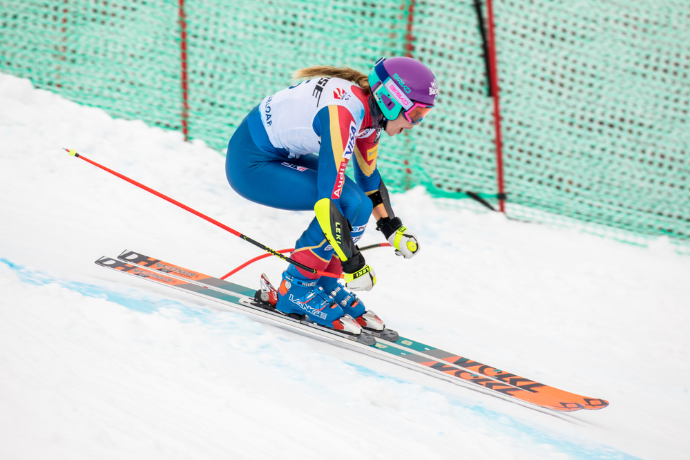 Laurenne Ross earns second national Super-G title in US Alpine Championships at Sugarloaf