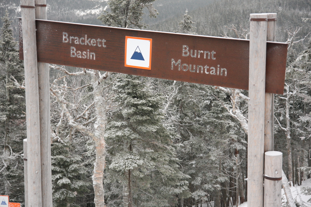 More snow at Sugarloaf today; 100 percent of terrain open including Backside Snowfields