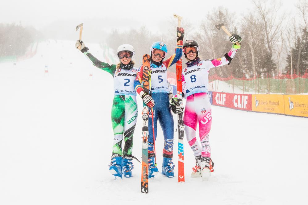 McJames takes giant slalom championship