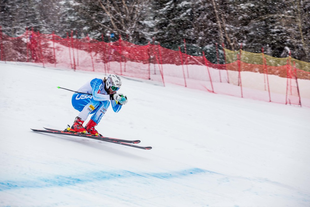 Wiley Maple and Julia Ford take national titles in downhill at Sugarloaf