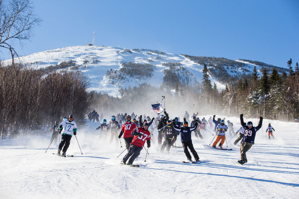 Pats fans show pride at Sugarloaf