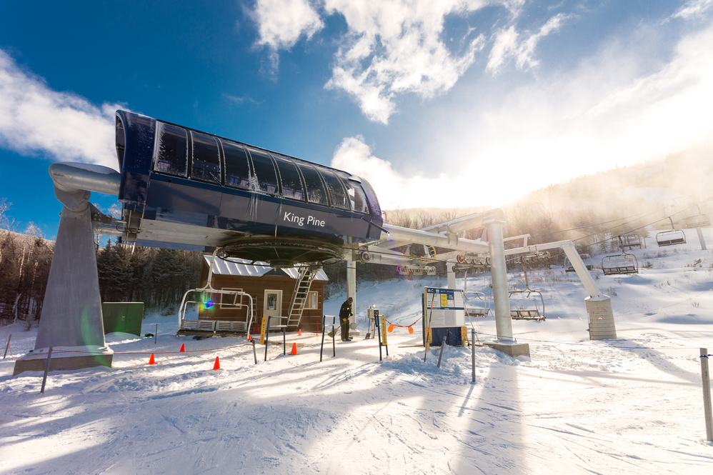 Sugarloaf's King Pine lift Reopened today