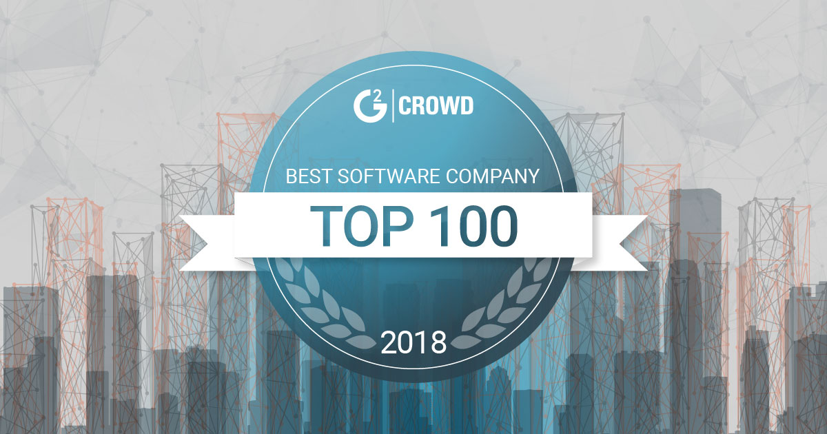 G2 Crowd Top 100 Software Companies