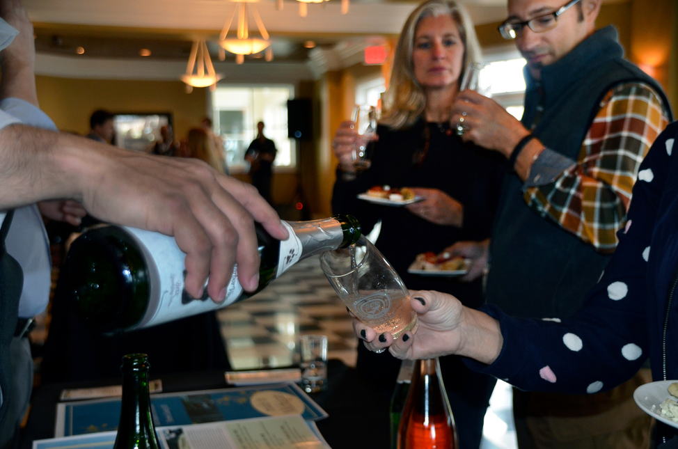 Sparkle exclusively celebrates Michigan's sparkling wines.
